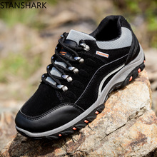 New Arrival Classics Style Men Waterproof Hiking Shoes Lace Up Men Sport Shoes Outdoor Jogging Trekking Sneakers Worker Shoes