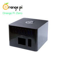 Orange Pi Black Protective case,ABS Case, Only Suitable for Orange Pi Zero, cant hold Expansion Board inside