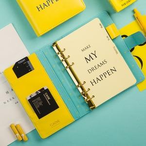 Image 4 - Planer cahier A6 2019 2020 Agenda Journal Agenda organisateur classeur bloc notes Plan papier Portable livre bureau mémo étudiant
