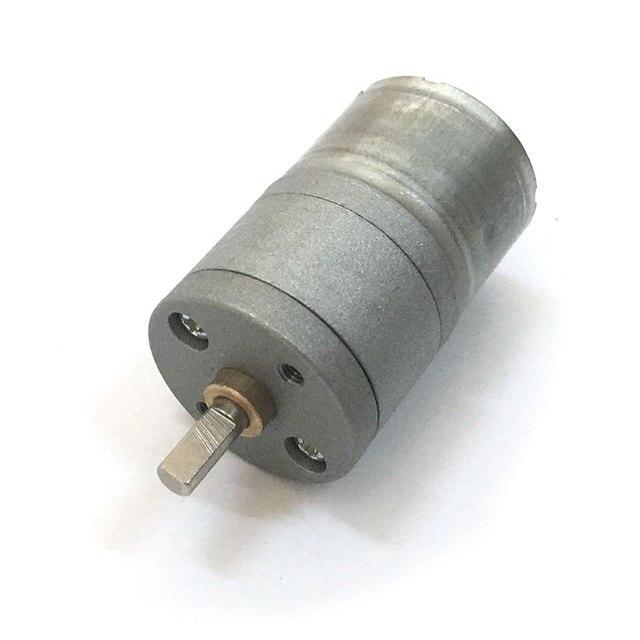 Dc 6v Motor High Torque Metal 6 Volt Geared 30rpm Electric For Toys Diy Arduino