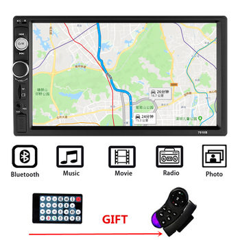2 Din Car Radio Car Universal Multimedia Player Autoradio Stereo Touch Screen Video MP5 Player Auto Radio Backup Camera Mirror image