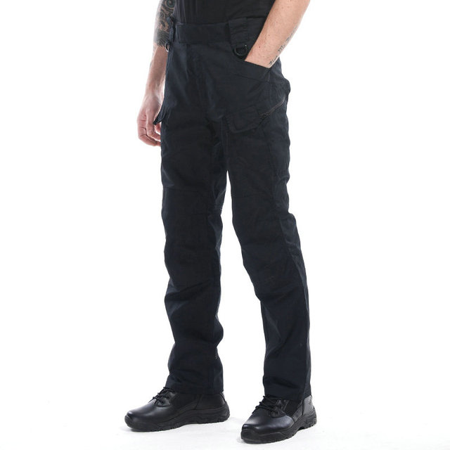 Brand X7 Mens Tactical Pants Military Multi-pocket Cotton Slim Fat Casual Combat Pants Men Strong Cargo Pant Overalls 5XL BF252