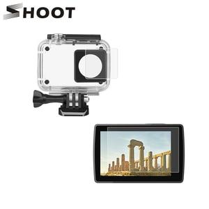 SHOOT HD Protective Film Screen Protector For Xiaomi Yi Lite Yi 4K 4K+ Sports Cam Kits for Yi 4 k Action Camera Accessories Set(China)