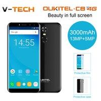 Oukitel C8 4G 18 9 Aspect Ratio 5 5 Infinity Display Smartphone 3000 MAh 13MP 5MP
