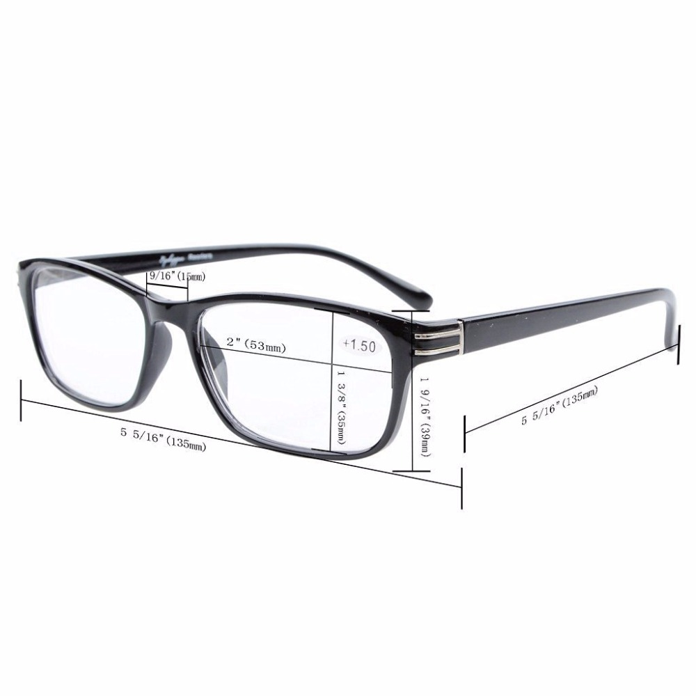 b7127a29a559 CG056 Eyekepper UV Protection, Anti Glare,Anti Blue Rays Computer Reading  Glasses Computer Eyeglasses Readers Yellow Lens-in Reading Glasses from  Apparel ...