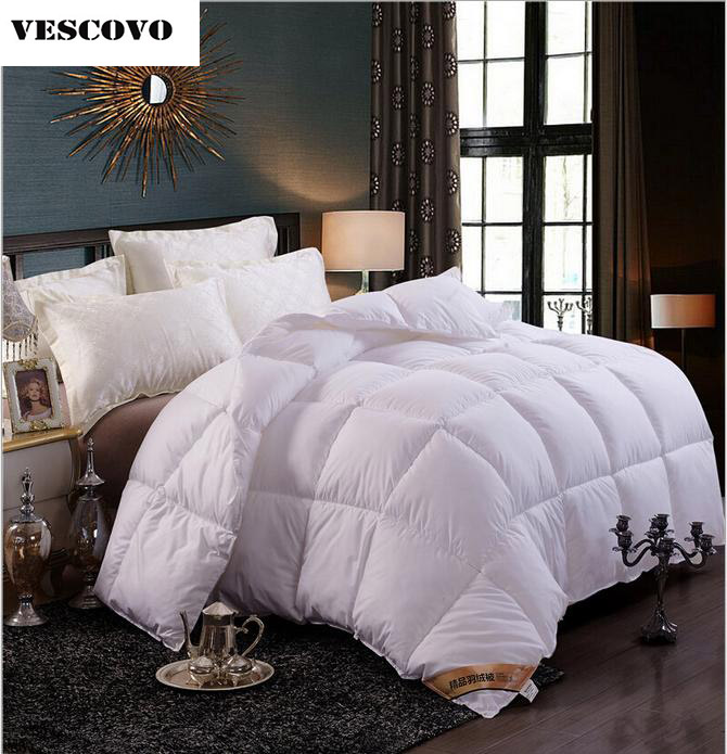 buy 2018 white pink beige warm winter quilt goose down comforter feather duvet. Black Bedroom Furniture Sets. Home Design Ideas