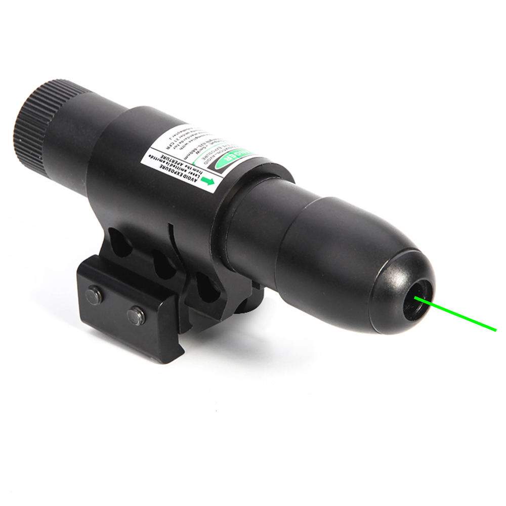 Green Laser Sight Tratical Rifle Scope Fit 11mm 20mm Rail Mount Hunting Airsoft Air Guns For Tactical Hunting Airsoft Scope