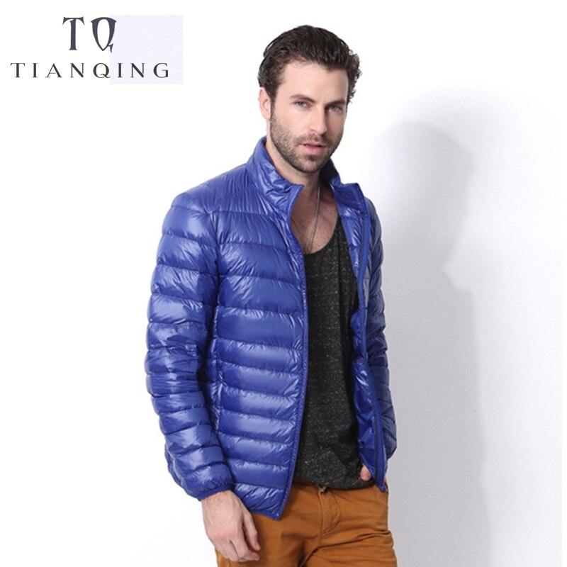 In Quality 3xl Plus Size White Duck Down Jacket Men Autumn Winter Warm Coat Mens Ultralight Duck Down Jacket Male Windproof Parka Excellent