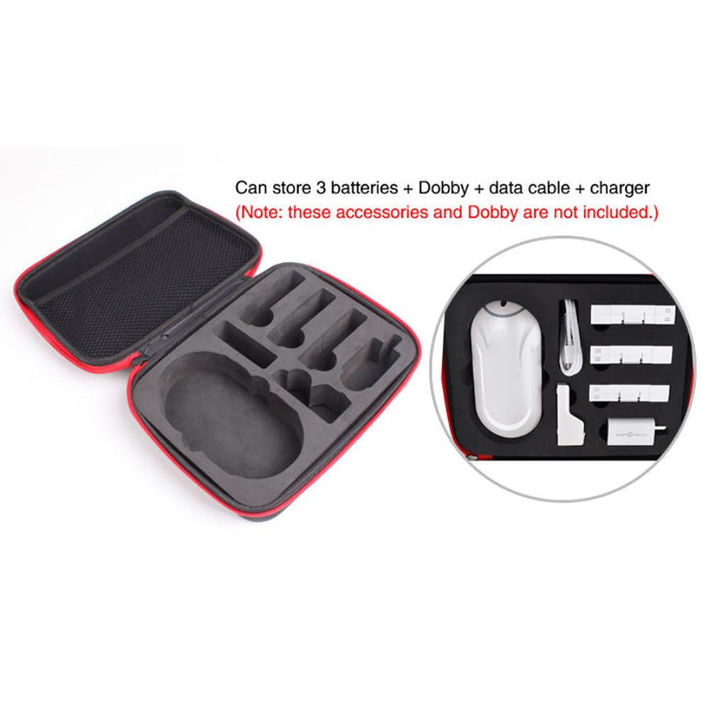 RC Battery Battery Handheld Bag Case Container For Zerotech Dobby Drone RC Parts Accessory18jan19 zerotech dobby pu bag