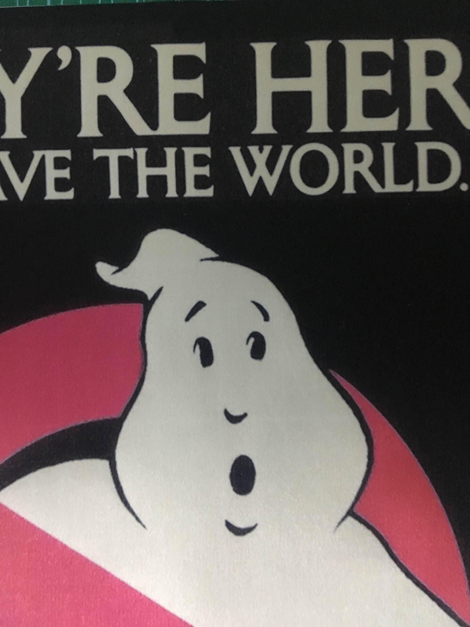 Ghostbusters Plakaty Filmowe I Druku Błyszczący Tkanina Jedwabna