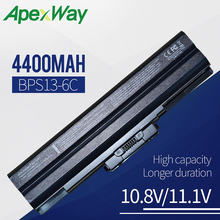 купить 7800mAh laptop battery for SONY VAIO VGN-SR VPC-B/CW/F/M/S/Y/YA/YB VGN-FW VGP-BPS13/B VGP-BPS21A VGP-BPS21B по цене 1651.22 рублей