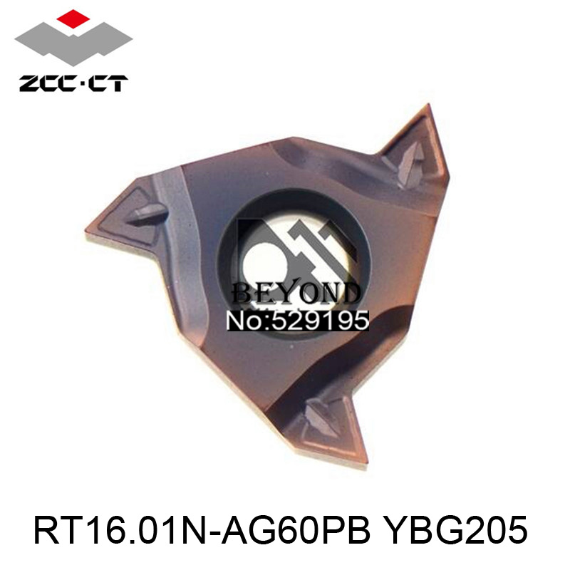 RT16 01N AG60PB YBG205 Zcc Cutting Blade milling Insert Zhuzhou Diamond Original Products The Price Ratio
