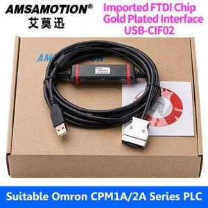 Image 2 - USB CIF02 Download Kabel Geeignet Für Omron CPM1A/2A Serie PLC Programmierung Kabel Verbesserte CQM1 CIF02 USB Port