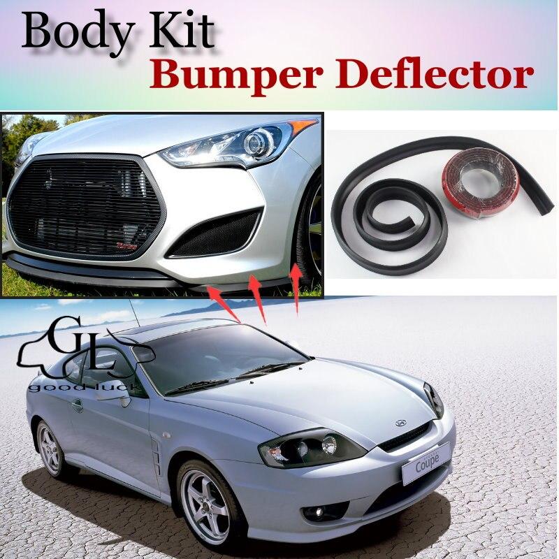 buy for hyundai coupe tiburon tuscani bumper lip front spoiler deflector for. Black Bedroom Furniture Sets. Home Design Ideas