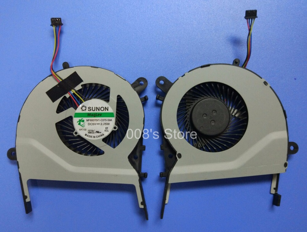 New Brand Laptop CPU Cooler Fan For ASUS X455LD K555LJ X455CC A455 A455L K455 X555 A555L K555 W419LD MF60070V1-C370-S9A 2.25W