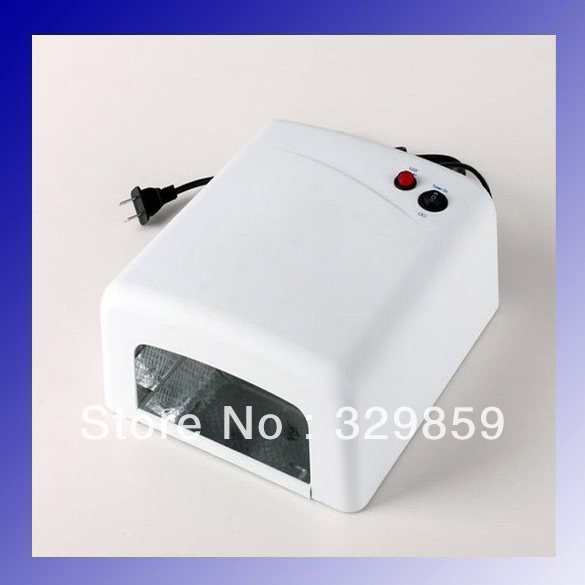 UV Nail Art Gel Curing Polish Light Lamp Dryer 36w with 4Tube for Refurbish Lcd Screen for iPhone perfect summer 36w nail gel leduv lamp nail dryer nail art dryer tools for curing gel polish nail art lamp different plug choose