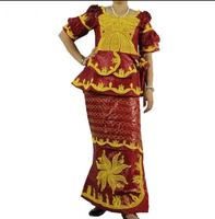 Traditional African Clothing 100 Cotton Traditional Clothing Thailand Lady Short Sleeve African Drums