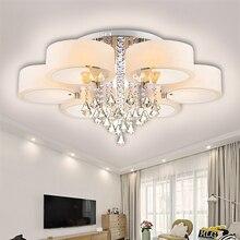 2019 plafond moderne à LEDs lumières pour salon luminarias para sala plafonniers éclairage de chambre à coucher avec télécommande
