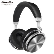 Bluedio T4S Active Noise Cancelling Wireless Bluetooth Headphones wireless Headset with microphone for phones(China)