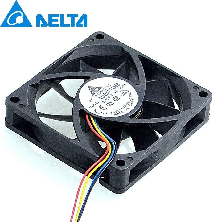 Delta AUB0712MB 12V 0.24A 7cm 4 -pin PWM CPU cooling fan