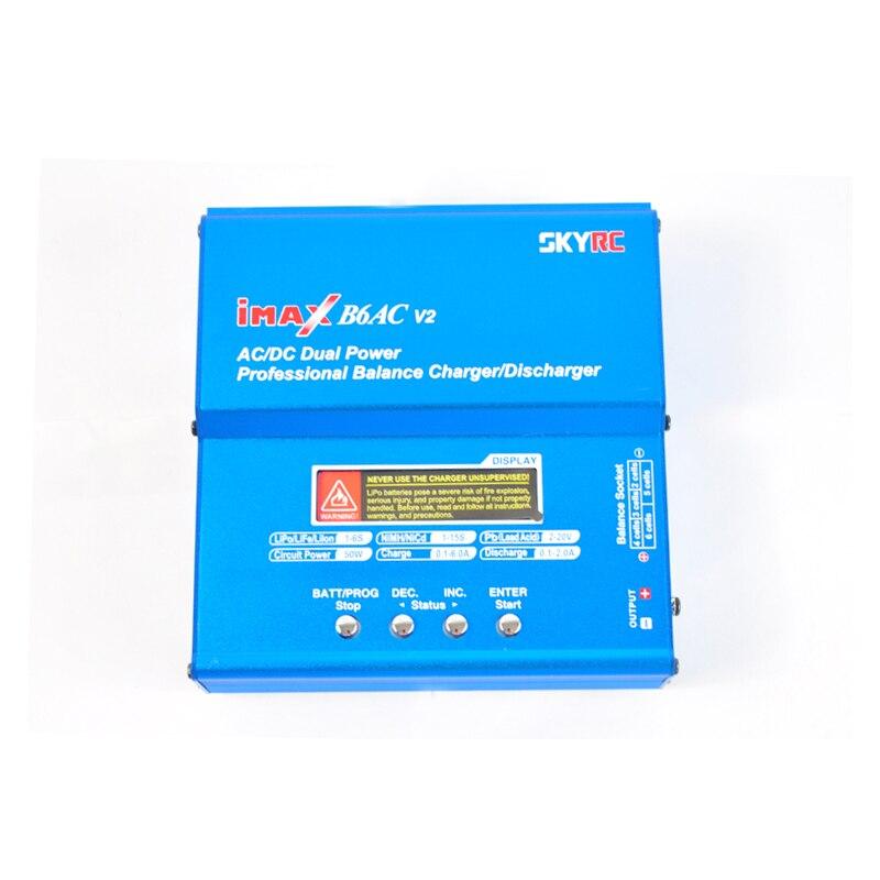 Origine Skyrc B6AC V2 Batterie chargeur de balance Pour Lipo NiMH 2 S-6 S batterie rc B6-AC Chargeur