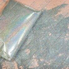 0,03 мм 35 микрон голографический лазер серебряного цвета косметический блеск для ногтей порошок для ногтей лак для ногтей искусство блестки для рукоделия украшения