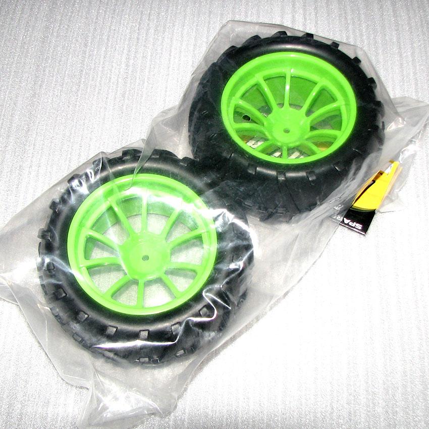 Hsp 08010 escala 1/10 camión monstruo neumáticos de coche/ruedas (2 unids/bolsa) para 94188, 94108