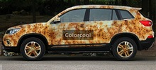 Iron Rust Vinyl Wrap Film For Car Wrap Rust style Wrapping Colored Car Full Body Wrap Vinyl Sticker Bomb Air Bubble Free