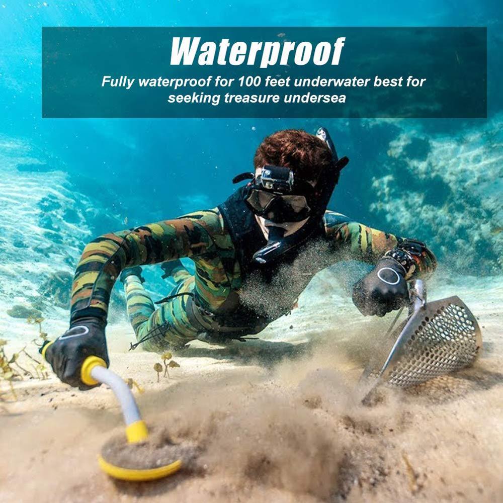 Pi iking 750 Pulse Targeting Pinpointer Pro Pointer Technology Metal Detector Waterproof Underwater Metal Detector