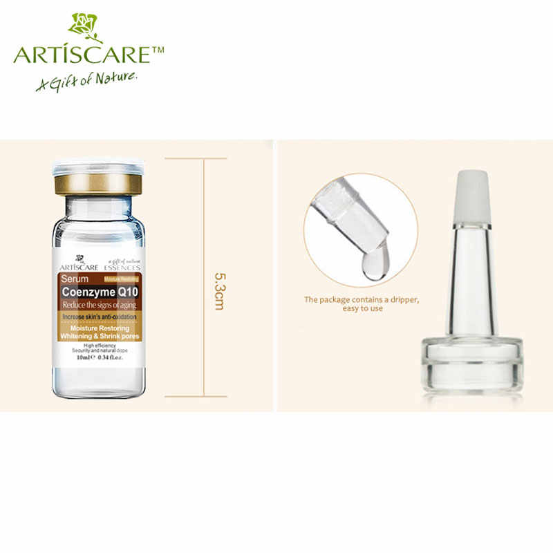 ARTISCARE Coenzyme Q10 Serum 3Pcs Anti Aging Wrinkle Whitening Minimizing Pores Essence Tighten Flabby Skin Face Serum Essence