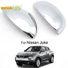 MISIMA 2 шт. внешние аксессуары для двери боковое зеркало хромированная отделка крышки заднего вида для Nissan Juke 2011 2012 2013