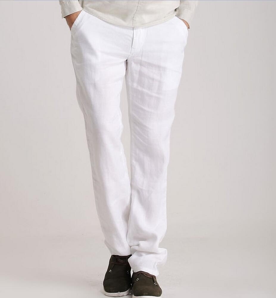 Linen Pants Hemp Ultra-Thin Trousers Loose Breathable Plus-Size Casual Summer Singer