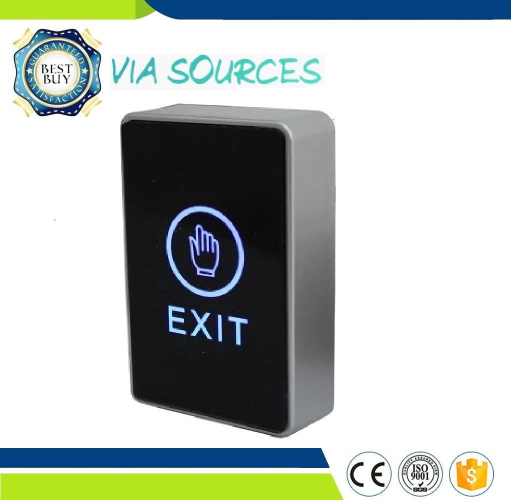 Free Shipping  Access Control System Door Exit Release Button With LED Indicator Light Push Touch Sensor Exit Button SecurityFree Shipping  Access Control System Door Exit Release Button With LED Indicator Light Push Touch Sensor Exit Button Security