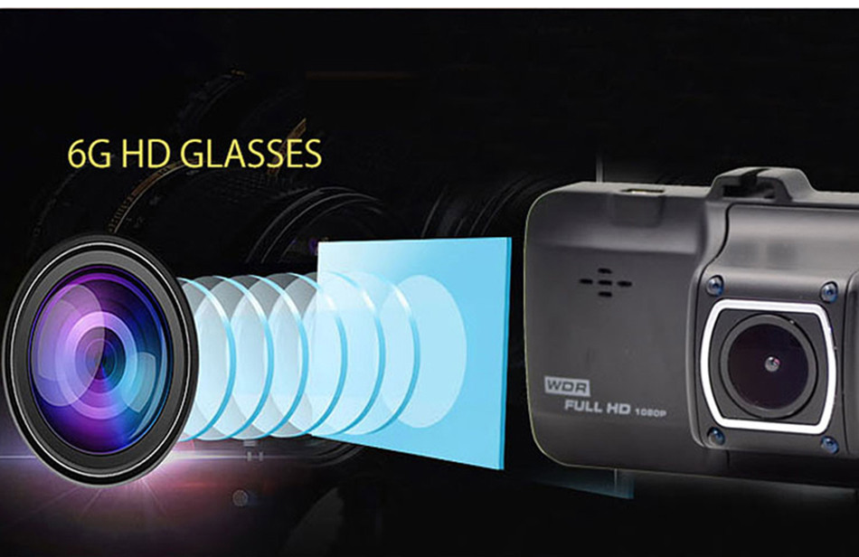 SKydot 3 Inch Mini Car Dvr Dash Cam Full HD 1080P Vehicle Camera Camcorder 170 Degree Night Vision G-Sensor Digital Video Recorder04
