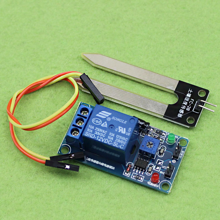 12V soil moisture sensor relay control module is lower than the humidity start switch automatic watering (D5B4) ahd 2 0megapixel cctv camera module pcb low illumination 0 001lux osd cable dc12v cvbs 2000tvl 3d noise reduction
