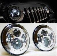 For Jeep JK 7 Round Headlight Led For Jeep Wrangler 97 15 For Hummer Toyota Defender