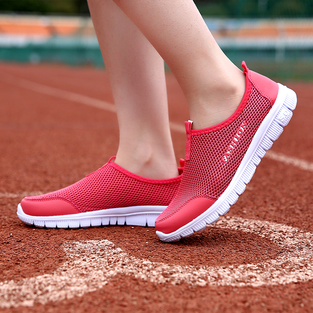 2019 Women Sneakers mesh breathable ladies sneakers comfortable soft summer women shoes # XA01