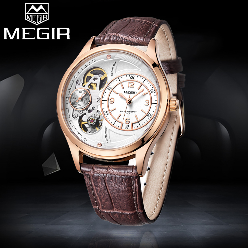 MEGIR Luxury Brand Men Fashion Casual Watches Mens Sport Quartz Watch Man Military Waterproof Analog Clock Relogio Masculino 2017 new top fashion time limited relogio masculino mans watches sale sport watch blacl waterproof case quartz man wristwatches