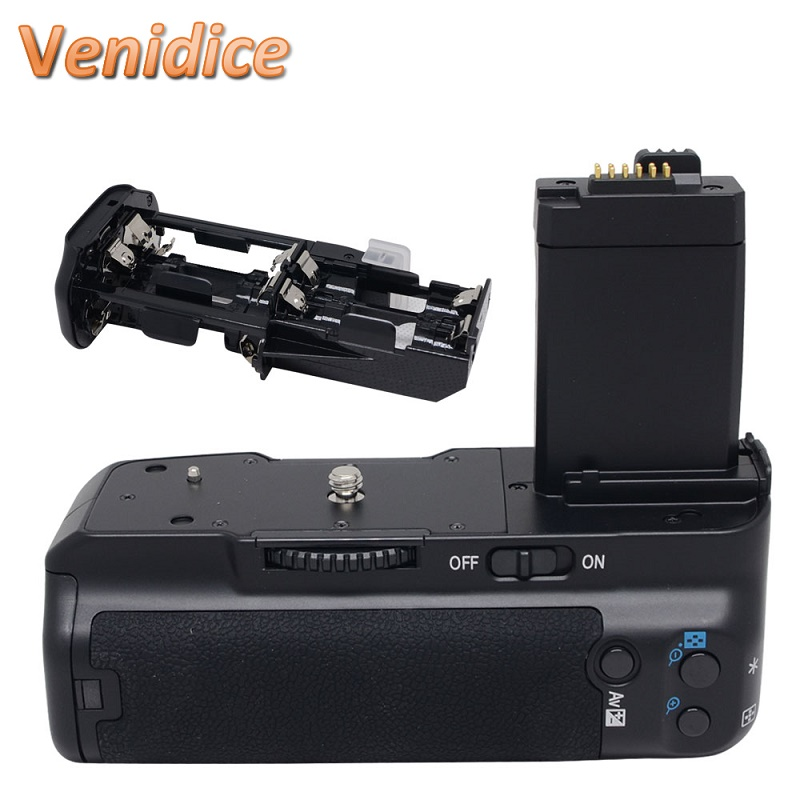 Mcoplus Venidice VD-450D Battery Grip for Canon EOS 450D 500D 1000D XSi T1i XS BG-E5 as Meike MK-450D