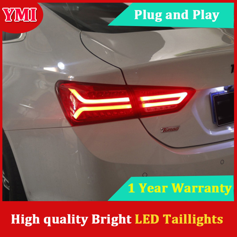 YMI Car Tail Lights For Chevrolet Malibu 2017 Taillights