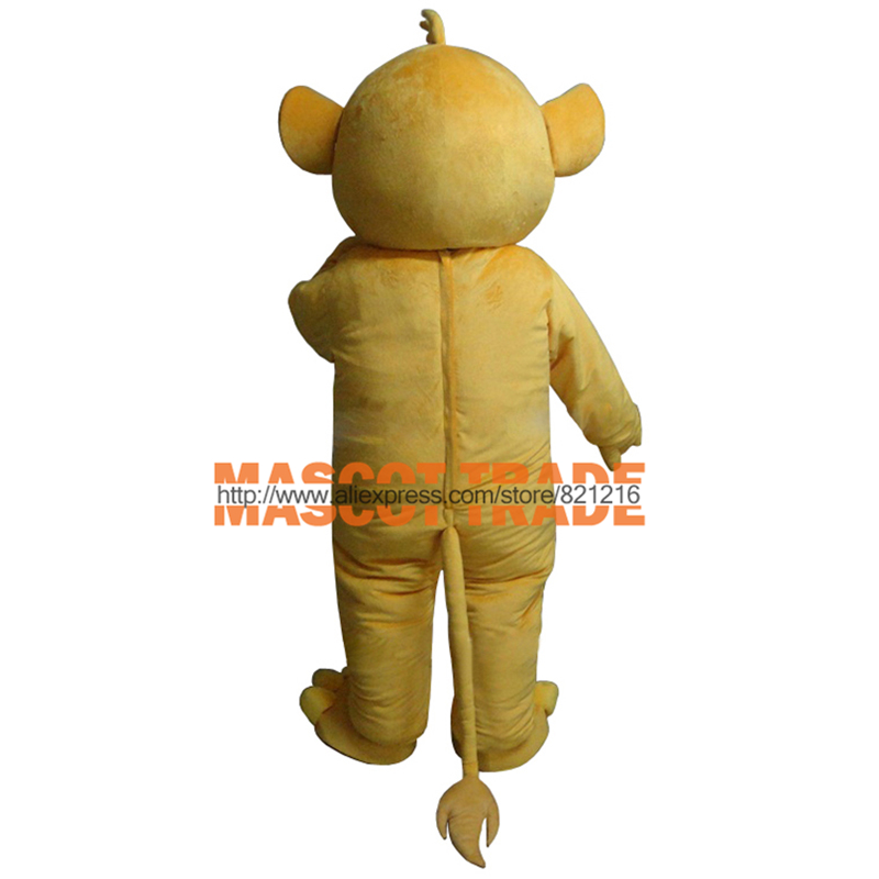 Masoct Lion King Simba Mascot Costume Custom Fancy Costume Anime Cosplay Kits  for Halloween party event
