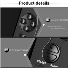 New X9 Portable Retro Video Game Console 5 Inch Handheld Gaming Players Support 8/16/64/128 Bits Built in GBA/NES 3000 Games