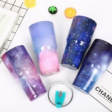 Stainless steel insulating cup 304 automobile Star sky four color creative custom outdoor water