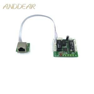 Image 1 - Mini disegno del modulo ethernet interruttore di circuito per modulo switch ethernet 10/100 mbps 5/8 porta bordo PCBA OEM scheda madre