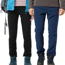 Tectop Thermal Fleece Hiking Pants For Men Women Winter Outdoor Sports Warm Fleece Trousers Winter Fleece Camping Pants