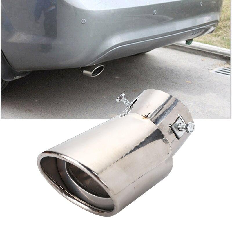 Vehemo Авто выхлопная труба глушителя Совет трубы Диаметр 63-86 мм Нержавеющая сталь аксессуары для автомобиля, автомобильный Стайлинг выпускной