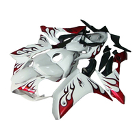 special red flames ABS fairing kit for YAMAHA YZF R1 2007 2008 YZF R1 07 08 fairings TP37