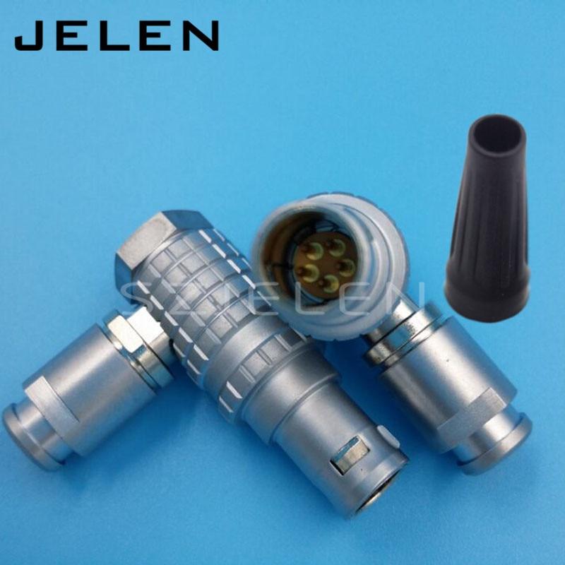 레모 1b 5 핀 커넥터 플러그, FHG.1B. 305. 클래드, 의료 장비, 플러그 radiometers, 카메라 전원 공급 플러그