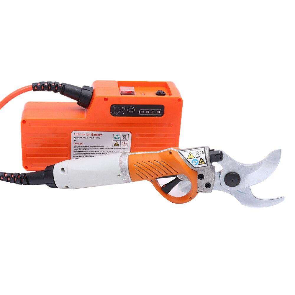 Cisailles électriques 450W sécateur électrique 36V 4400mah batterie au Lithium élagage électrique cisaille verger ciseaux pour jardin d'arbres fruitiers