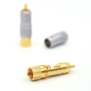 Image 4 - Nakamichi RCAปลั๊กขั้วต่อ24Kทองชุบ + ฟรี + 100% ใหม่